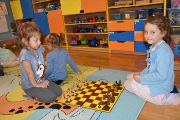 Pierwsze zajęcia z nauki gry w szachy
